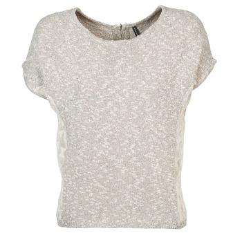 material Women short-sleeved t-shirts Naf Naf MILLON Grey