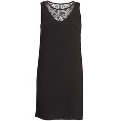 material Women Short Dresses Naf Naf LYSHOW Black