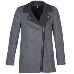 material Women coats Naf Naf ARNO Grey / Black