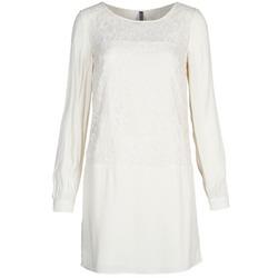 material Women Short Dresses Naf Naf LYNO Ecru