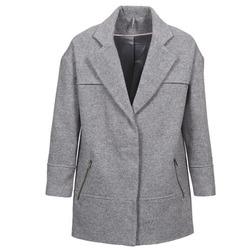 material Women coats Naf Naf ADELI Grey