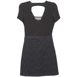 material Women Short Dresses Naf Naf EKLATI Black