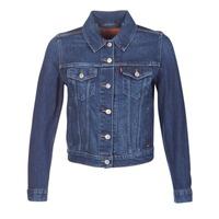 material Women Denim jackets Levi's ORIGINAL TRUCKER Blue / Jean