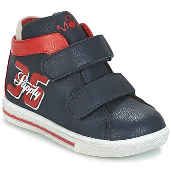 Shoes Boy High top trainers Mod'8 STARIUS Marine / Red
