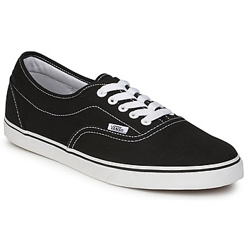 Shoes Low top trainers Vans LPE Black / White