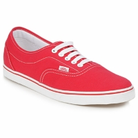 Shoes Low top trainers Vans LPE Red