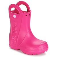 Shoes Girl Wellington boots Crocs HANDLE IT RAIN BOOT Pink