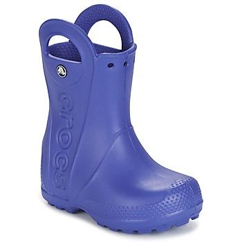 Shoes Boy Wellington boots Crocs HANDLE IT RAIN BOOT Blue