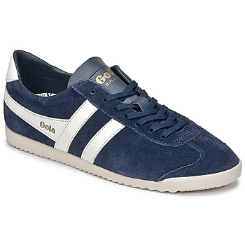 Shoes Men Low top trainers Gola BULLET SUEDE Marine / White