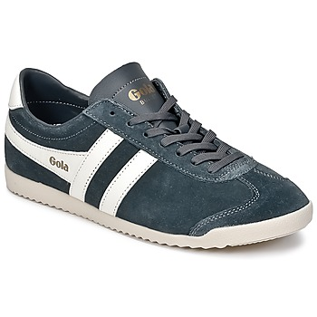 Shoes Men Low top trainers Gola BULLET SUEDE Grey / White