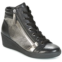 Shoes Women High top trainers Gabor DOSE Black / Silver
