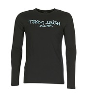 material Men Long sleeved shirts Teddy Smith TICLASS 3 ML Black