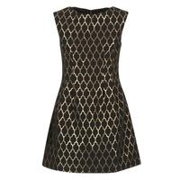 material Women Short Dresses Molly Bracken DIRCO Black / Gold