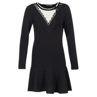 material Women Short Dresses Molly Bracken JAMIL Black