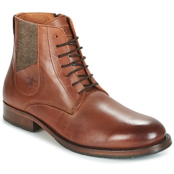 Shoes Men Mid boots Kost DROME Cognac