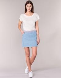 material Women Skirts Yurban  Blue