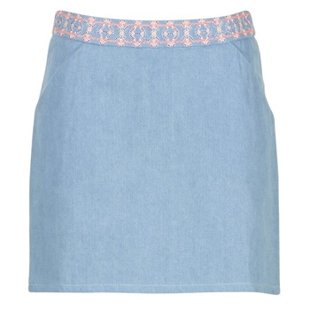 material Women Skirts Yurban  Blue