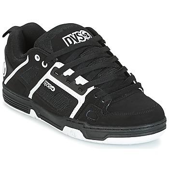 Shoes Men Low top trainers DVS COMANCHE Black / White