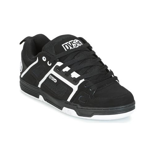 Shoes Low top trainers DVS COMANCHE Black / White