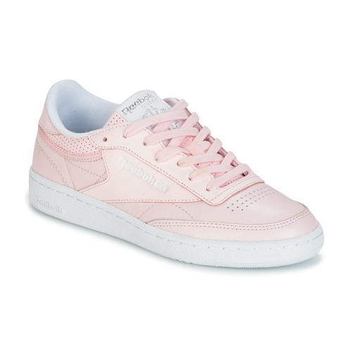 f901a56a595bb Shoes Women Low top trainers Reebok Classic CLUB C 85 FBT Pink