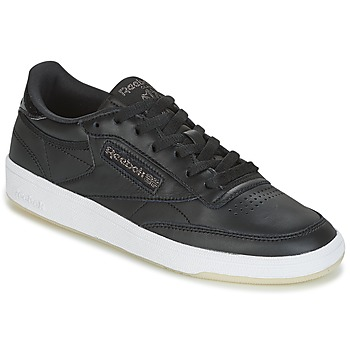 Shoes Women Low top trainers Reebok Classic CLUB C 85 LTHR Black