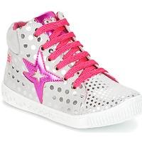 Shoes Girl High top trainers Agatha Ruiz de la Prada FLOW Silver