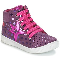 Shoes Girl High top trainers Agatha Ruiz de la Prada FLOW Violet