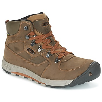 Shoes Men Hiking shoes Keen WESTWARD MID LEATHER WP Black