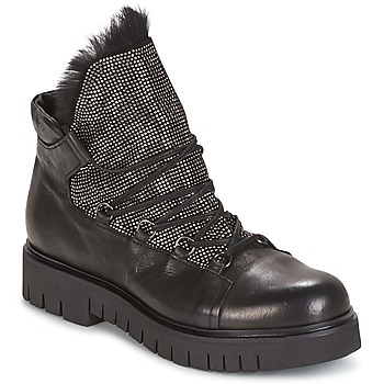 Shoes Women Mid boots Now BIANCO Black