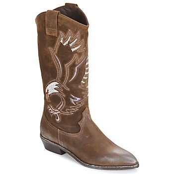 Shoes Women Boots Now SATURNA Brown