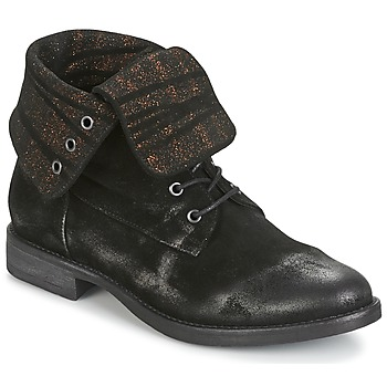 Shoes Women Mid boots Now BIANCA II Black