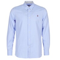 material Men long-sleeved shirts U.S Polo Assn. CALE Blue