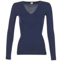 material Women Long sleeved shirts Petit Bateau LEOSA MARINE