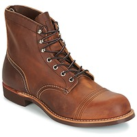 Shoes Men Mid boots Red Wing IRON RANGER Brown