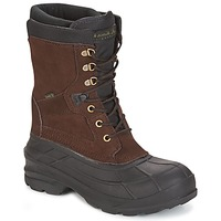 Shoes Men Snow boots KAMIK NATION PLUS Brown / Dark