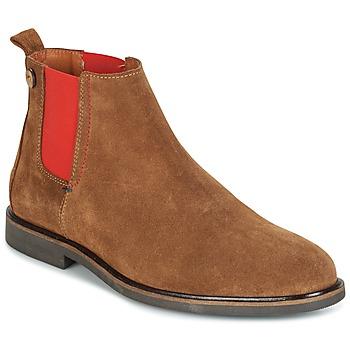 Shoes Men Mid boots Faguo CORK02 Brown