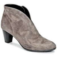 Shoes Women Ankle boots Ara MORTAD Grey / Silver