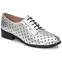 Shoes Women Derby shoes Mellow Yellow CHARLY Silver