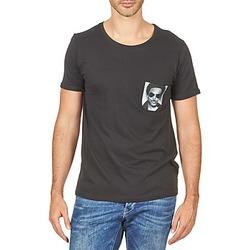 material Men short-sleeved t-shirts Eleven Paris LENNYPOCK White