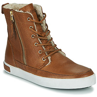 Shoes Women High top trainers Blackstone CW96 Brown