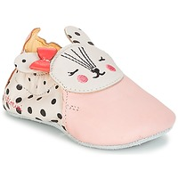Shoes Girl Slippers Catimini REMOULADE Vte / Pink / Dpf / Flexible