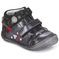 Shoes Mid boots Catimini ROSSIGNOL Grey / Silver