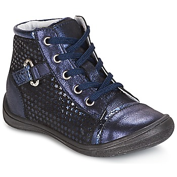 Shoes Girl High top trainers GBB ROMIE Vte / Marine / Dpf /  regina
