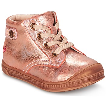 Shoes Girl Mid boots GBB REGINE Pink