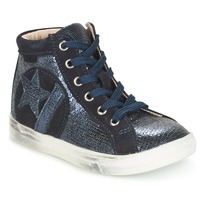 Shoes Girl Low top trainers GBB MARTA Vtc / Marine / Dpf / Dolby
