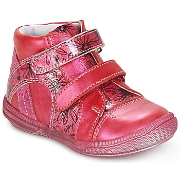 Shoes Girl Mid boots GBB ROXANE Raspberry