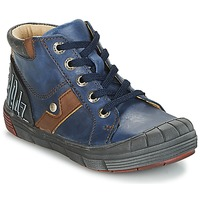 Shoes Boy High top trainers GBB RENOLD Vte / Marine / Dpf / 2831