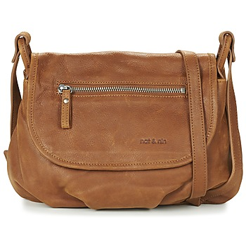 Bags Women Shoulder bags Nat et Nin JEN Brown