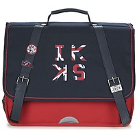 Bags Boy Satchels Ikks UNION JACK CARTABLE 38CM MARINE / Red