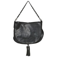 Bags Women Shoulder bags Ikks PLUMBER Black
